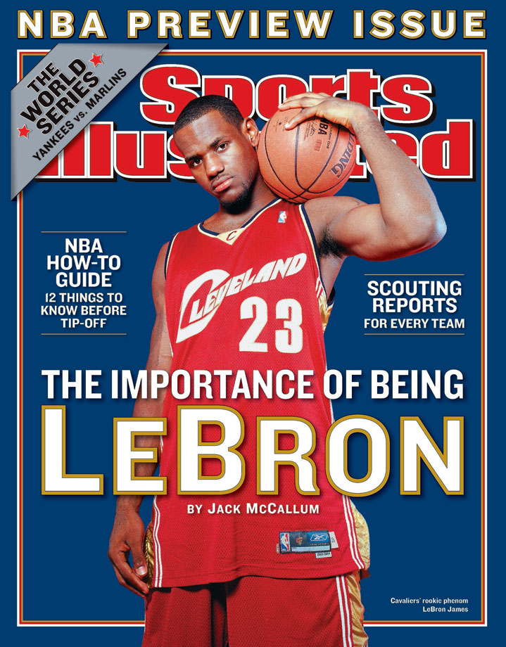 06805c6fcd2 LeBron James SI Covers | SI.com