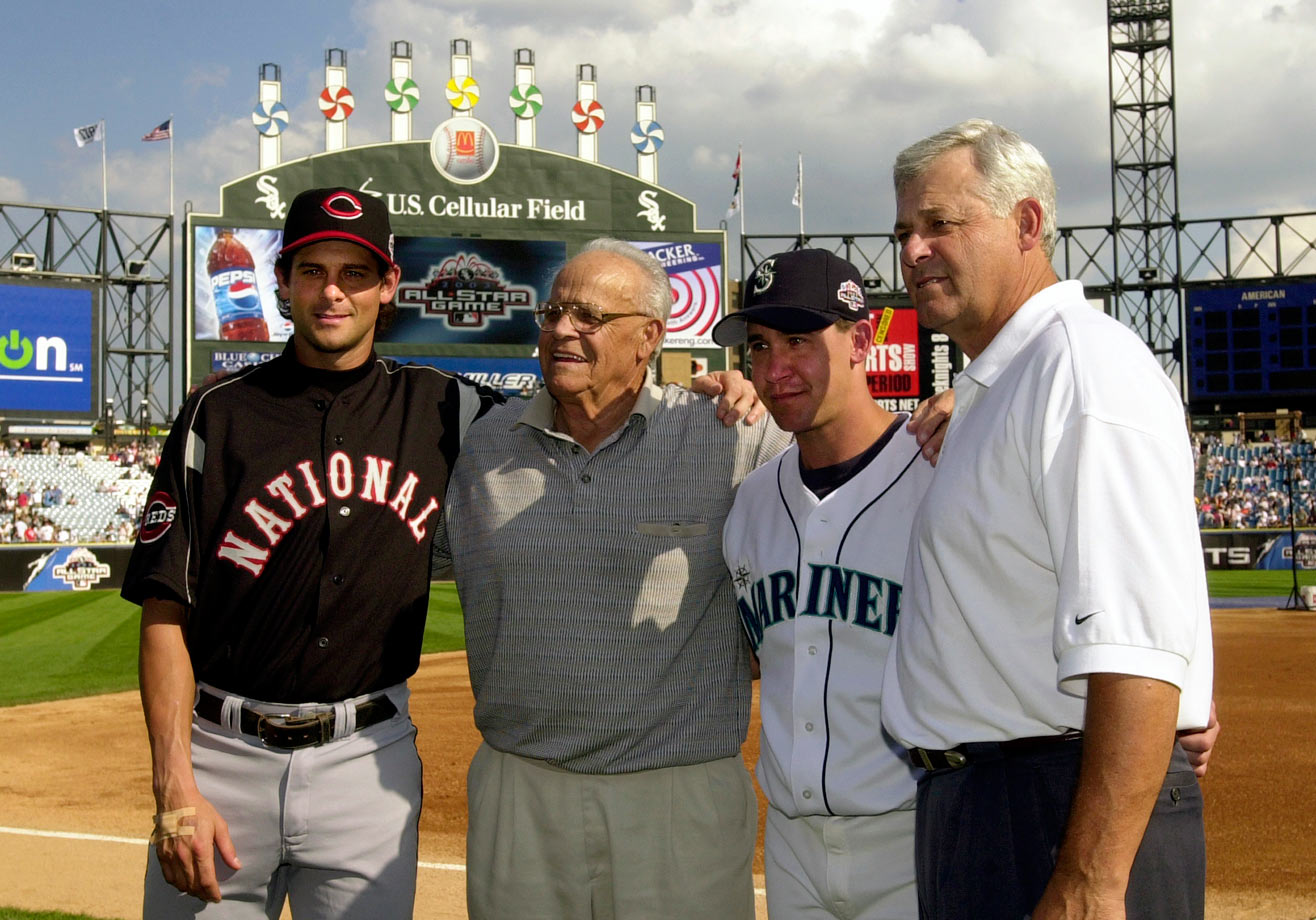 The Boone family — including grandfather Ray, father Bob, and sons Bret and Aaron — was the first to send three generations to the MLB All-Star game.
