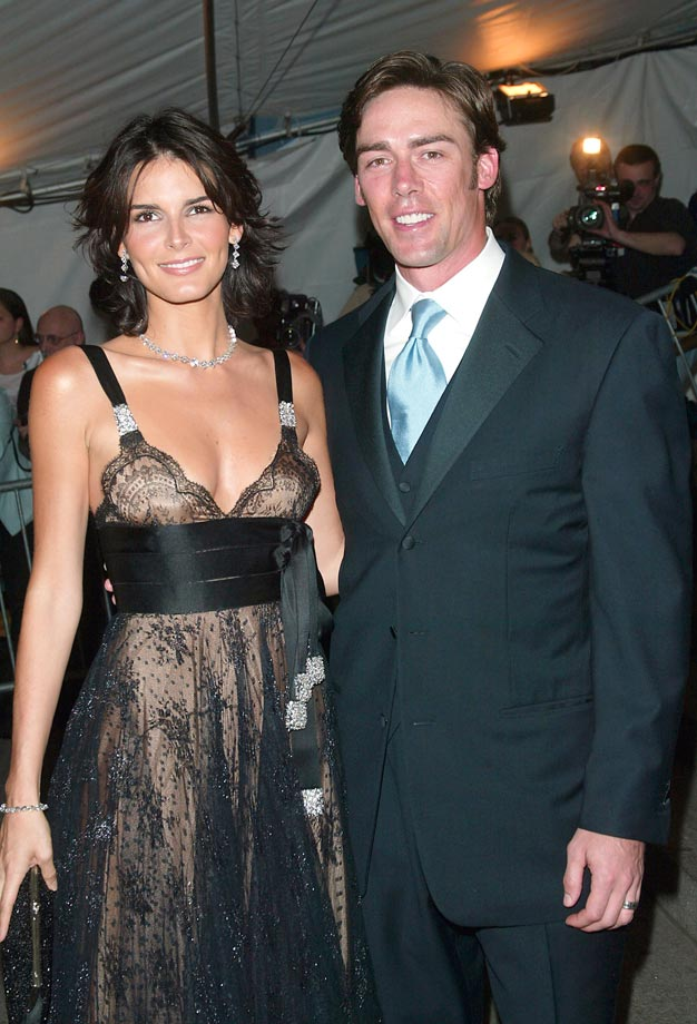 Angie Harmon and Jason Sehorn.