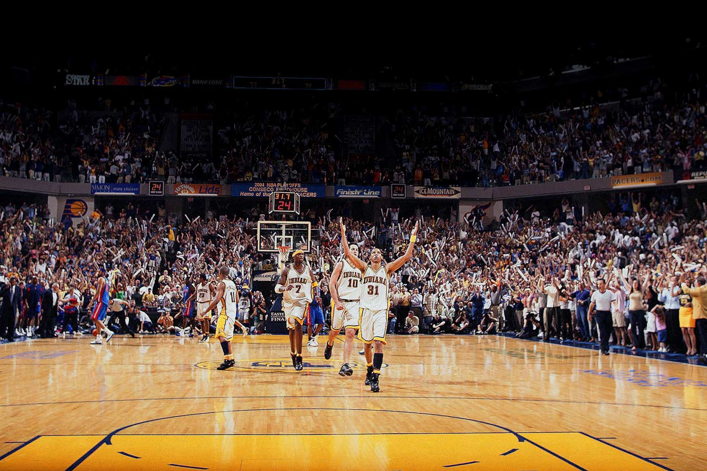 2004 Eastern Conference Finals, Game 1