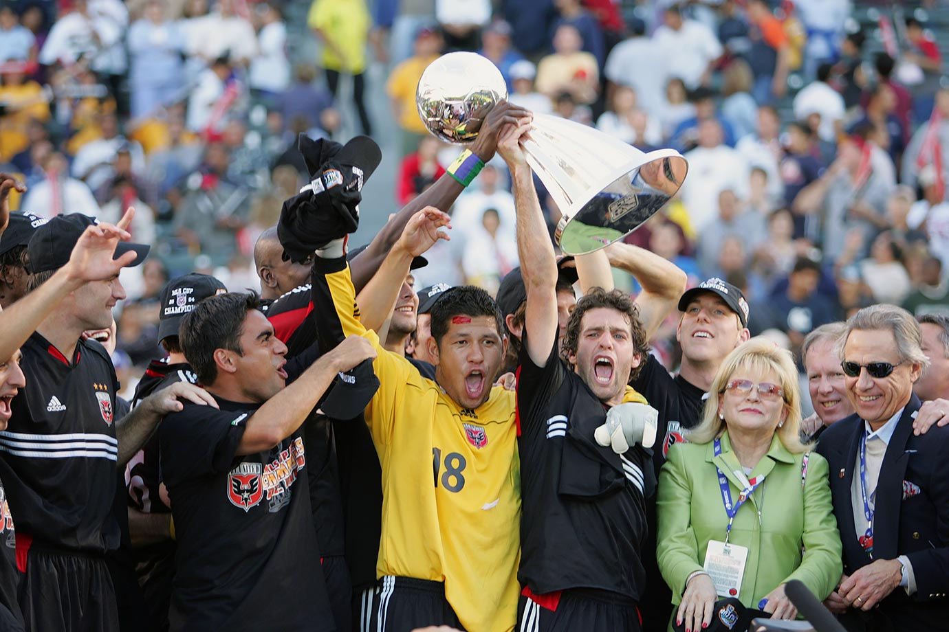 <p>2004 — D.C. United (beat Kansas City Wizards 3-2)</p>