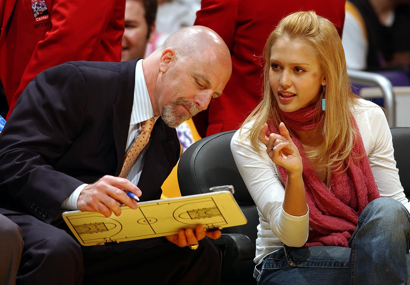 Gary Vitti and Jessica Alba