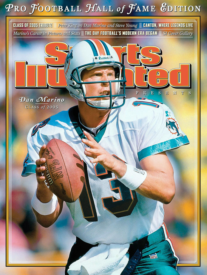 Dan Marino appears on the Aug. 10, 2005 cover of Sports Illustrated Presents.