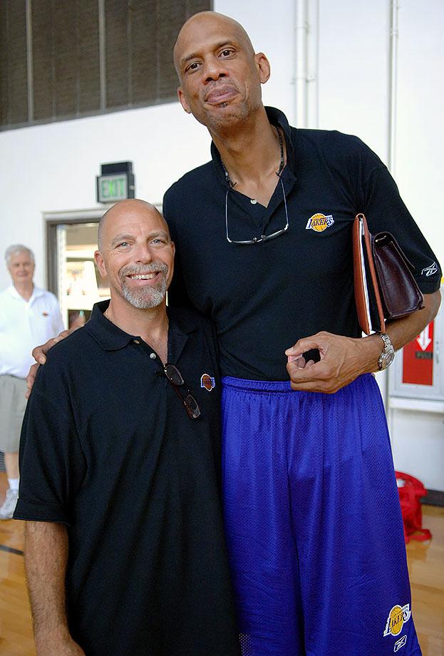 Gary Vitti and Kareem Abdul-Jabbar