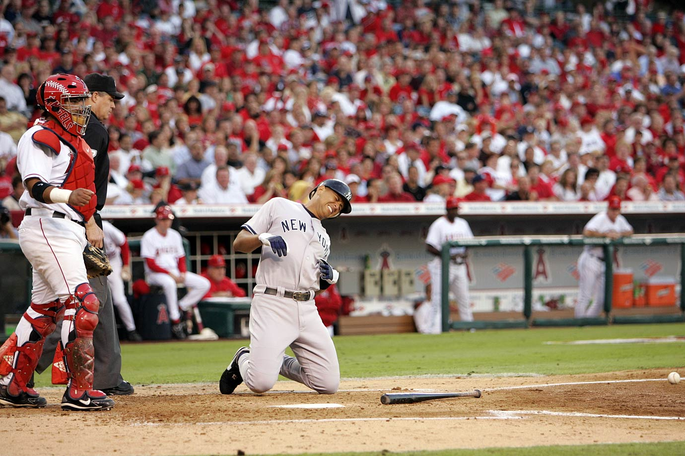 2005 American League Division Series, Game 1