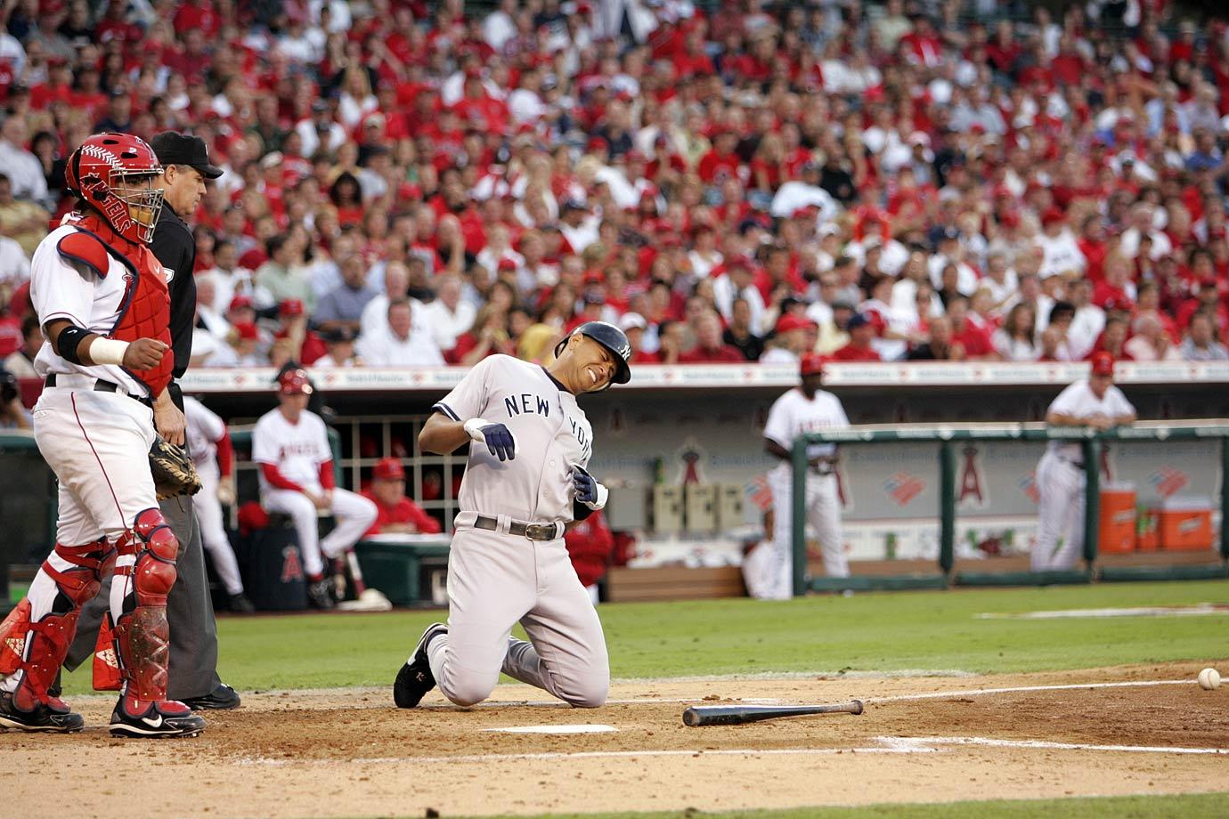 2005 American League Division Series, Game 1