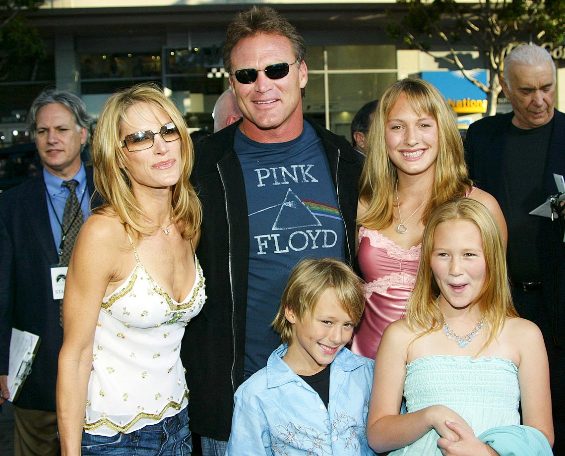 "Bosworth and his family attended the film premiere of ""The Longest Yard"" in Hollywood. Bosworth had a small role in the film."
