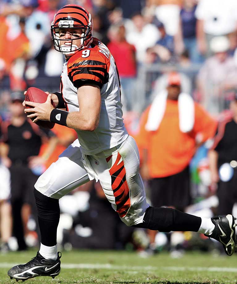 In his third year in Cincy, Palmer led the Bengals to their first winning season in 15 years as they ruled the division with an 11-5 record.