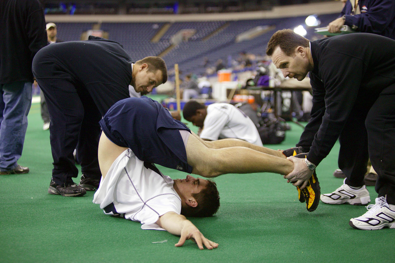 Feb. 27, 2005 — NFL Scouting Combine