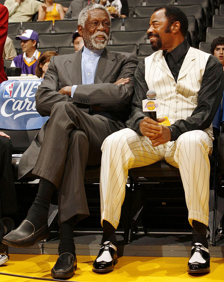 with Bill Russell