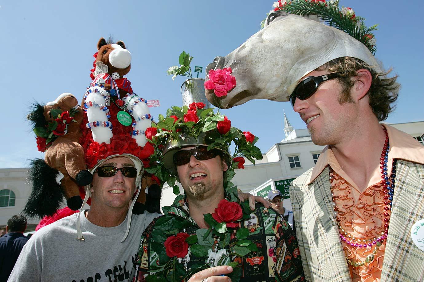 kentucky derby wild hats si com