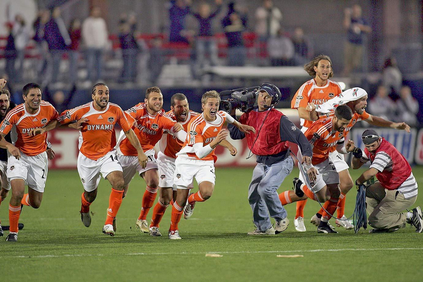 2006 — Houston Dynamo (beat New England Revolution in penalty kicks after 1-1 draw)