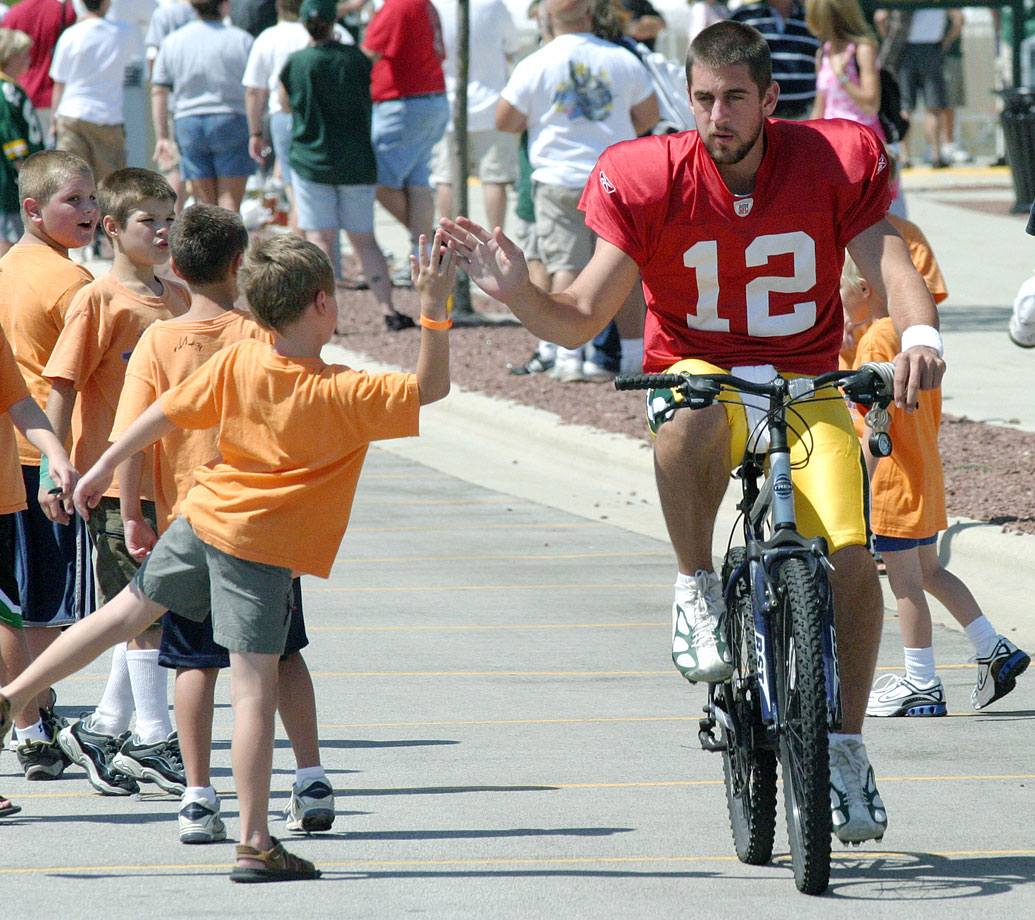 Aug. 16, 2006 — Packers training camp