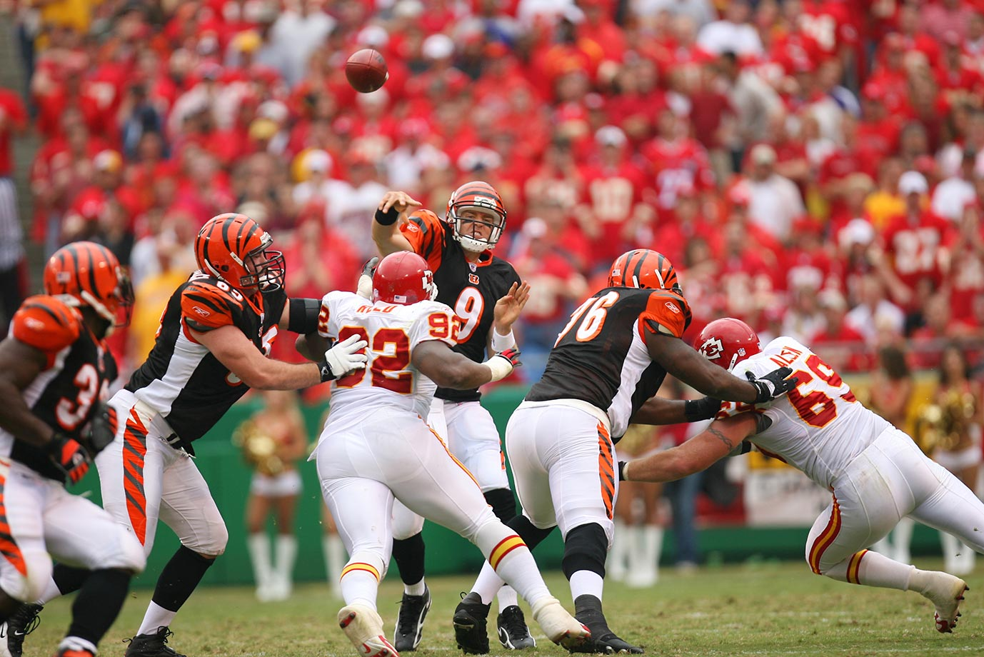 Palmer not only started the September season opener against the Chiefs, but also helped lead Cincinnati to a 23-10 victory.