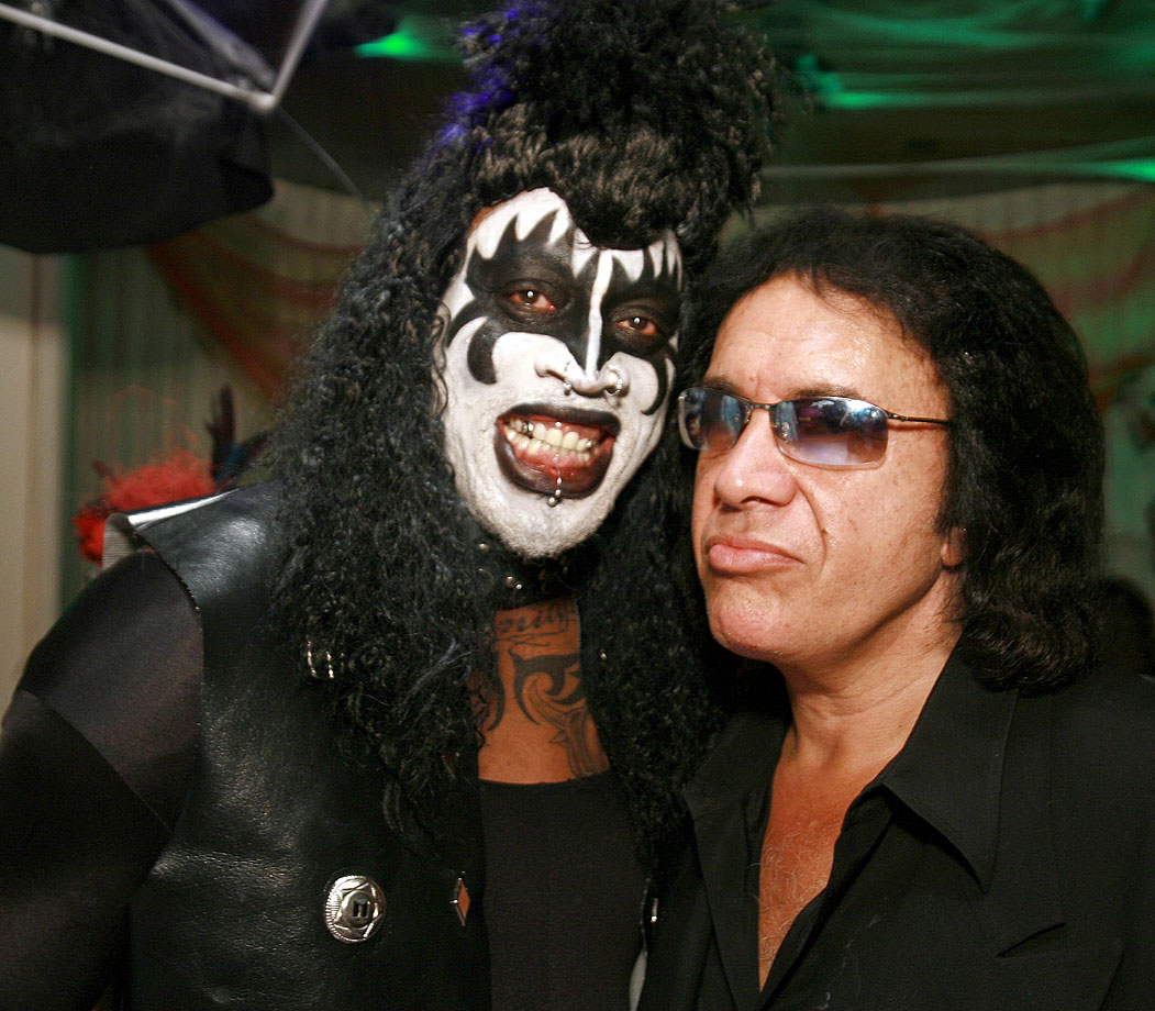with Gene Simmons