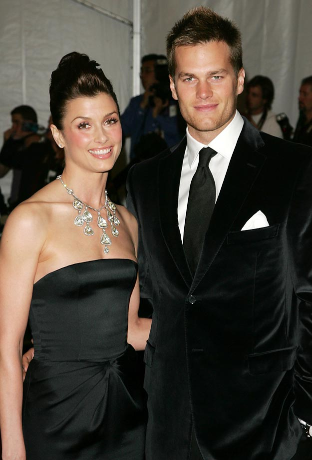 Bridget Moynahan and Tom Brady.