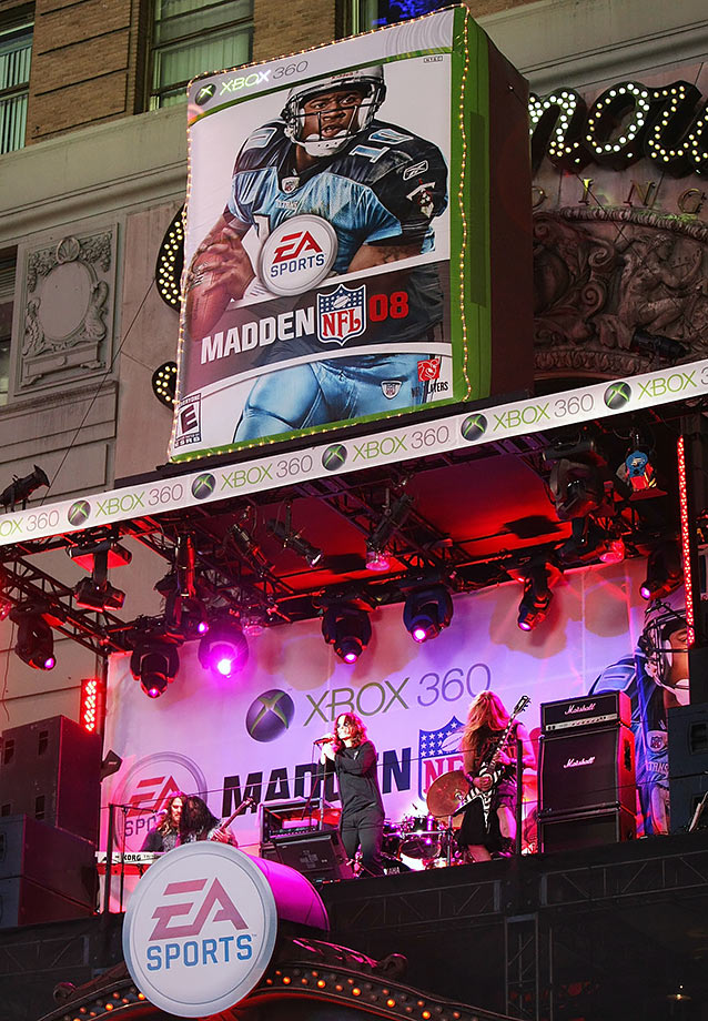 Madden NFL 08 consumer launch party hosted by ESPN and EA sports at the ESPN Zone on Aug. 13, 2007 in New York City.