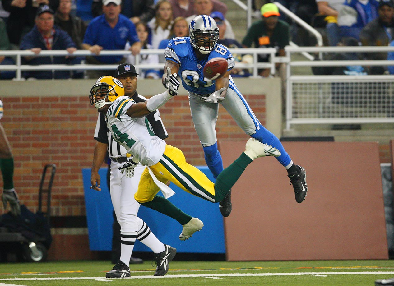 Nov. 22, 2007 — Detroit Lions vs. Green Bay Packers