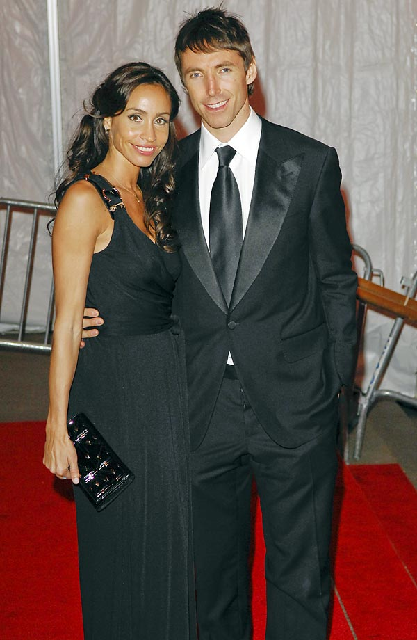 Alejandra Amarilla and Steve Nash.