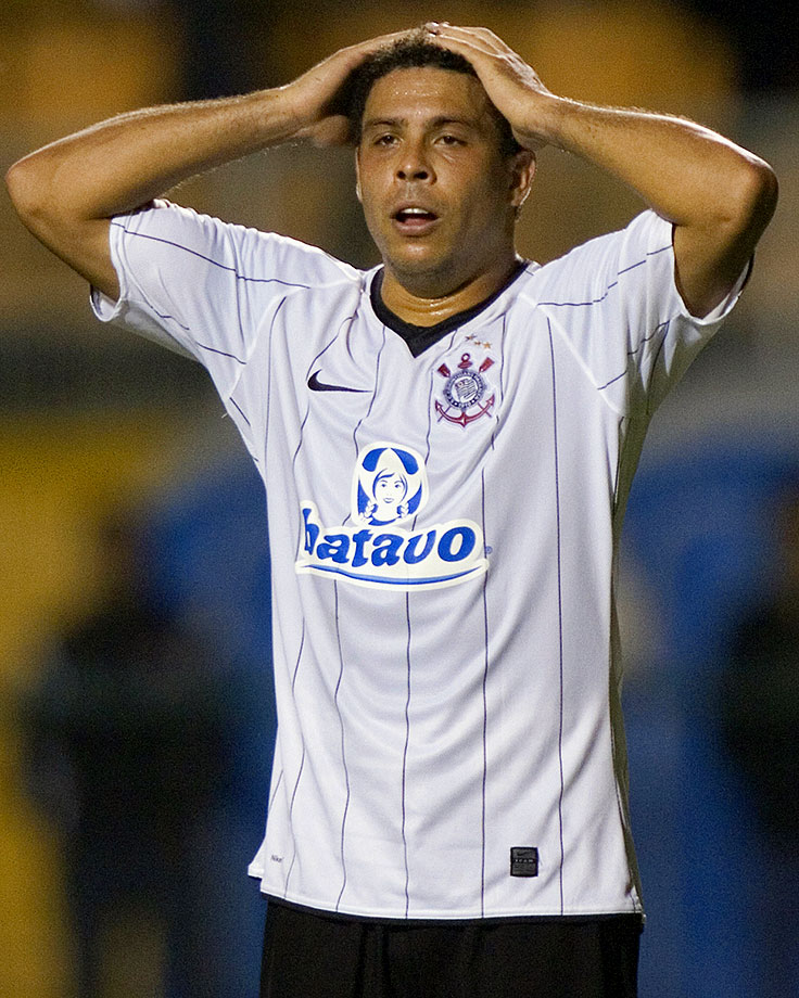 Ronaldo joined the Corinthians in March 2009. The stint was the last professional team of his soccer career. After the Corinthians were eliminated from the 2011 Copa Libertadores de America, Ronaldo announced his retirement while citing nagging injuries that have stalled his career.