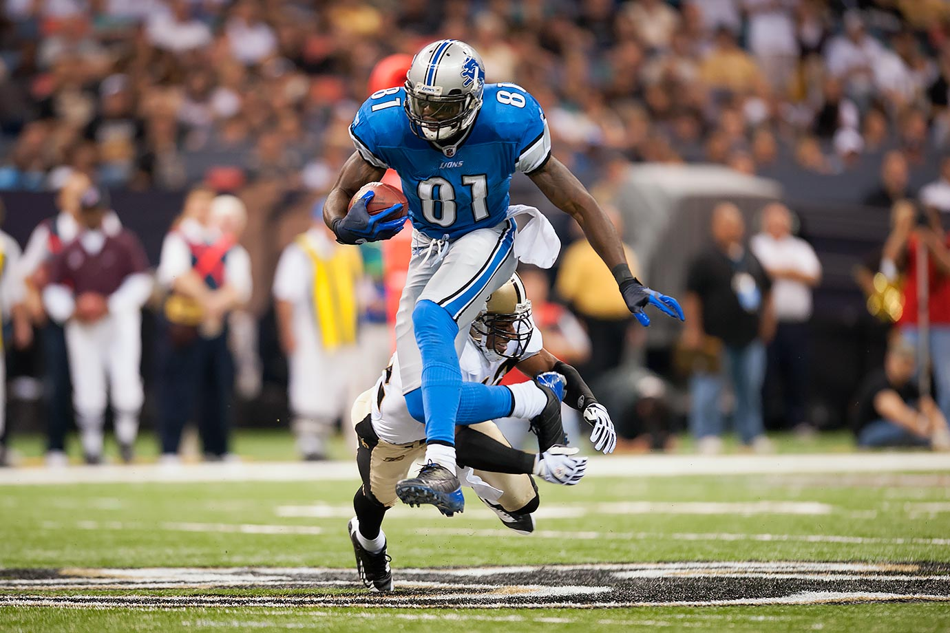 Sept. 13, 2009 — Detroit Lions vs. New Orleans Saints