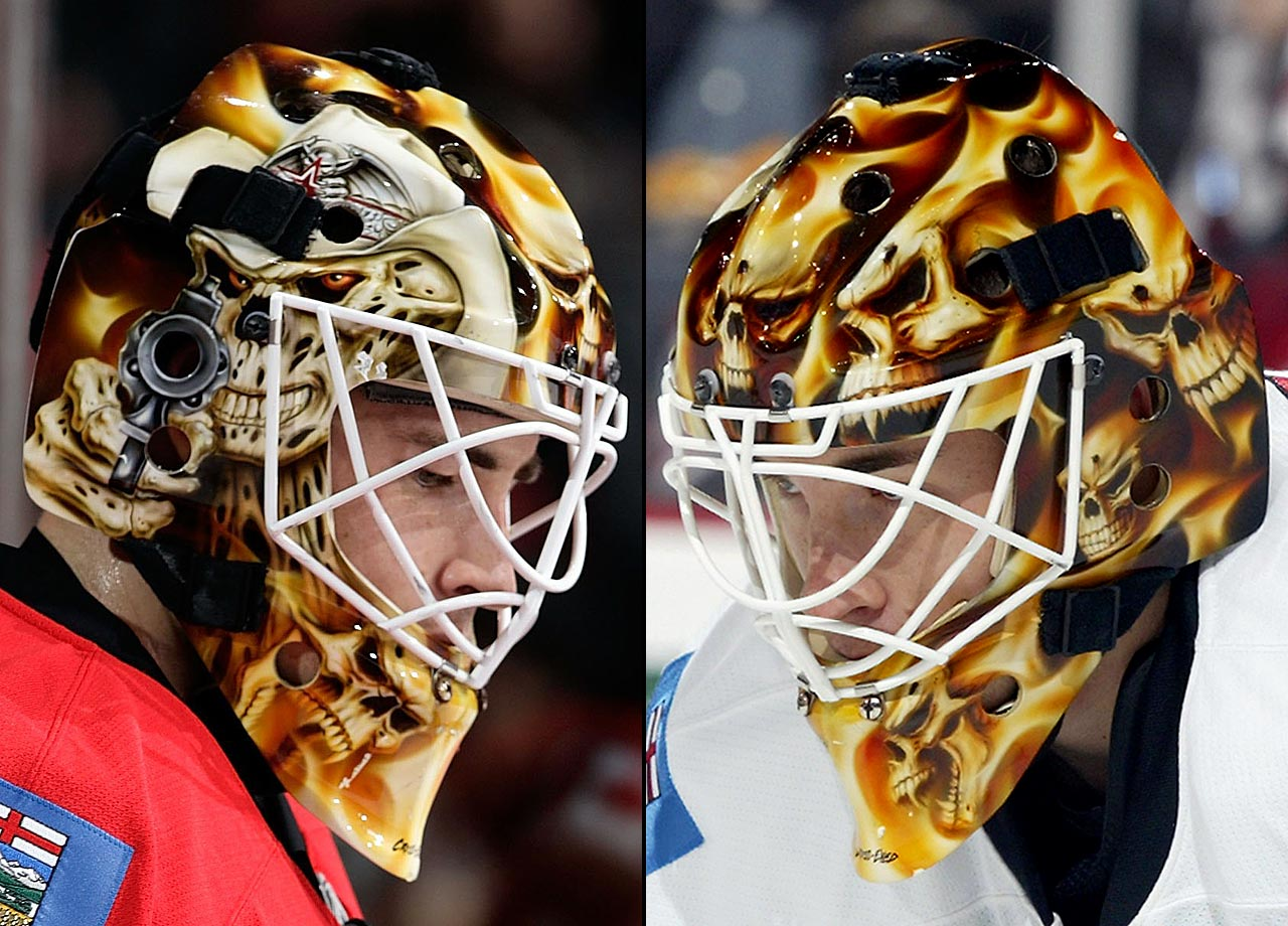 Scariest Goalie Masks in NHL History: Hot Clicks | SI com