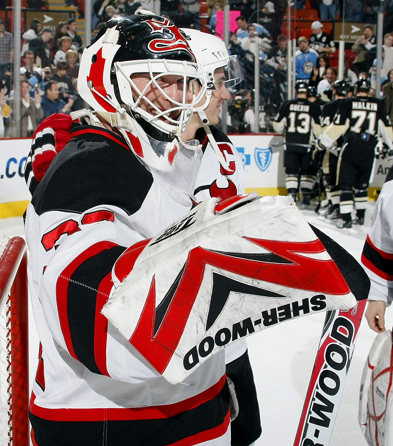 On December 12, 2009 Brodeur reached yet another milestone when he shuts out Penguins 4-0, breaking Terry Sawchuk's career NHL shutout record of 103. Nine days later the Devils legend blanked the Pens yet again to shatter George Hainsworth's pro record of 104 pails of whitewash.