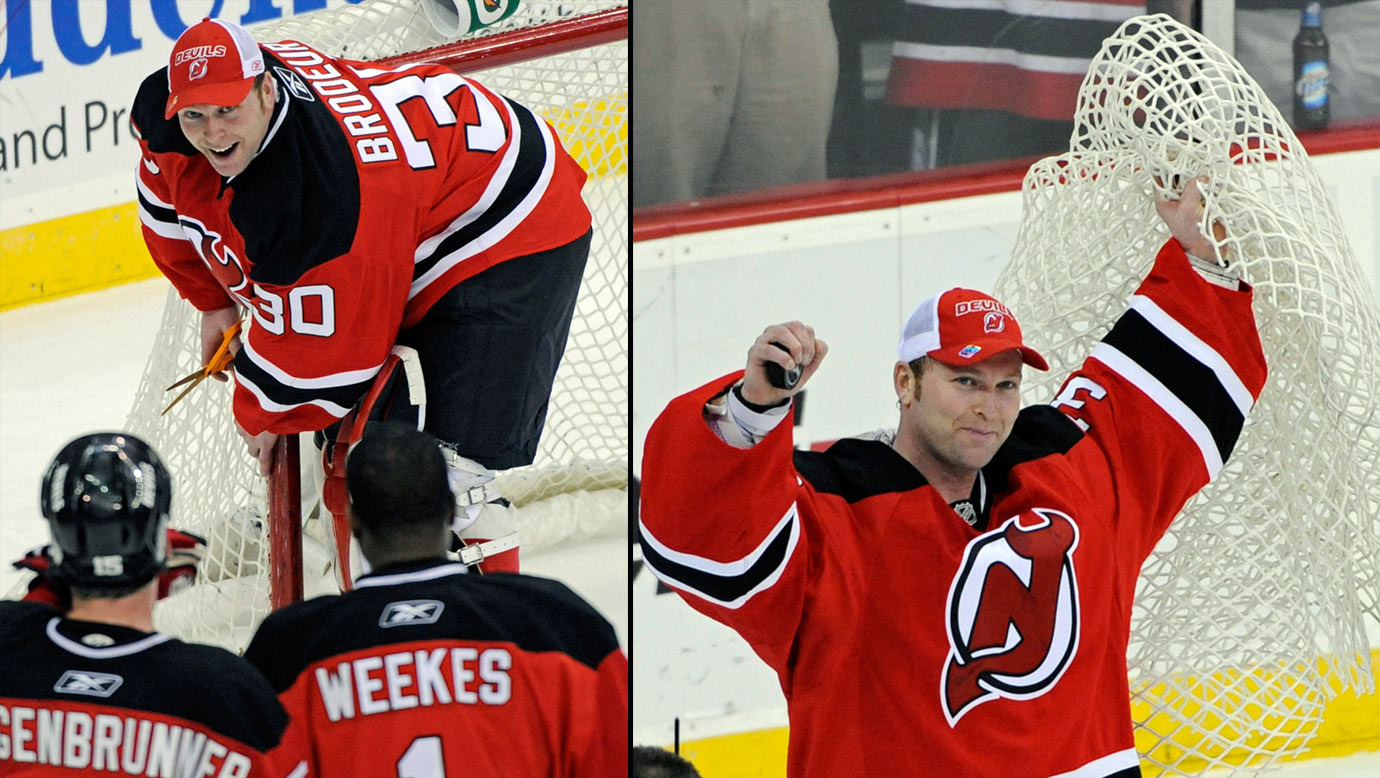 Brodeur broke Patrick Roy s career record for goaltending victories a06dc1930