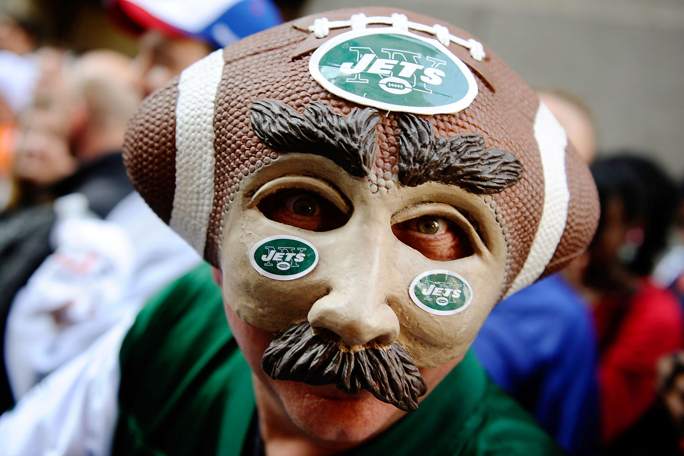 New York Jets fan in 2009.