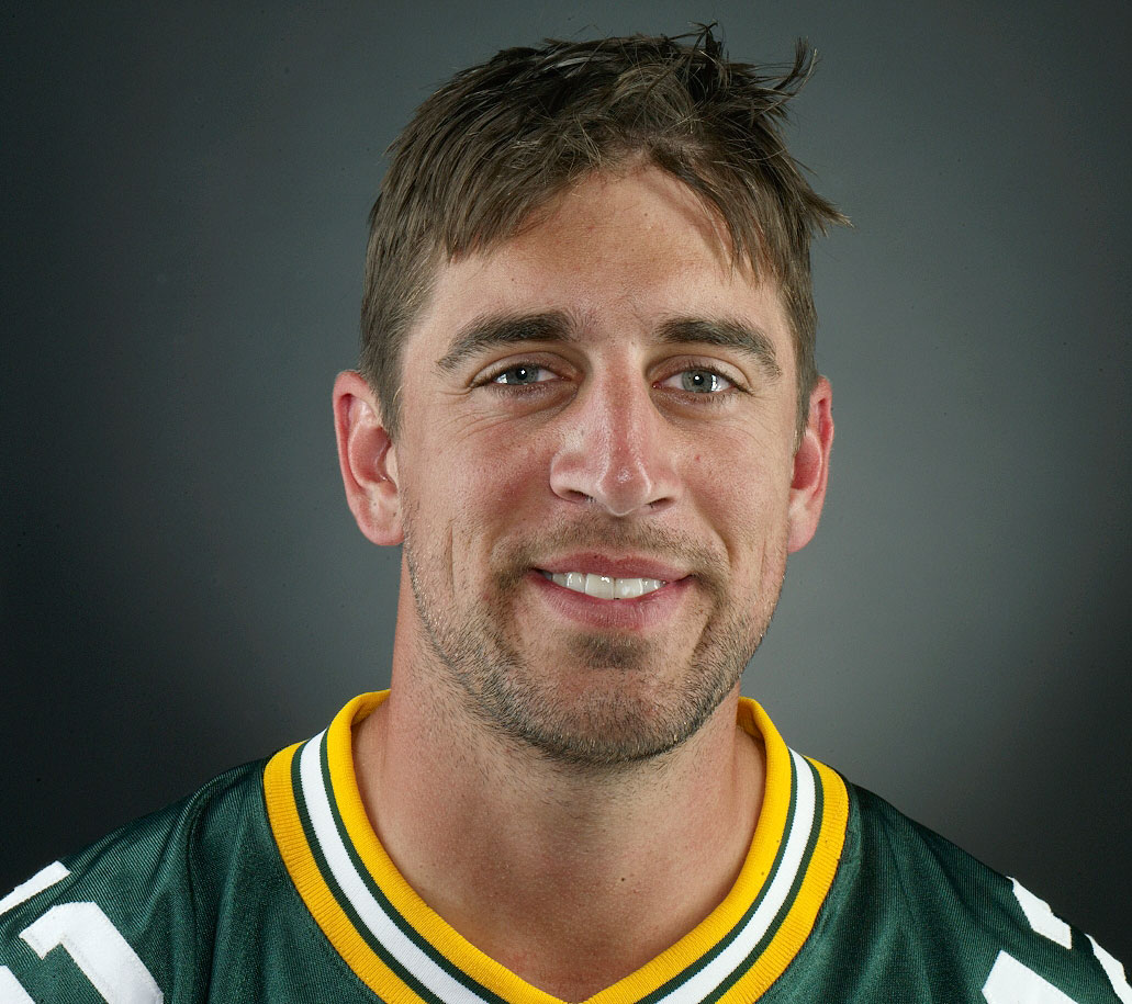 Aaron Rodgers f the Field