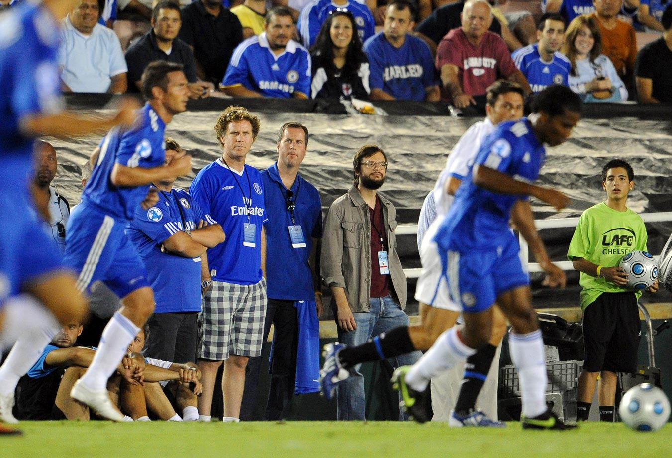 Will Ferrell attends the World Football Challenge between Chelsea and Inter Milan on July 21, 2009 at the Rose Bowl in Pasadena, Calif.