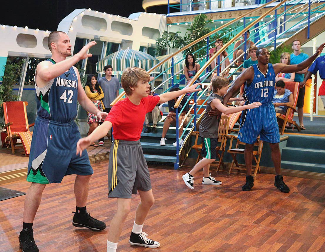 "July 2, 2010 — ""The Suite Life on Deck"" episode"