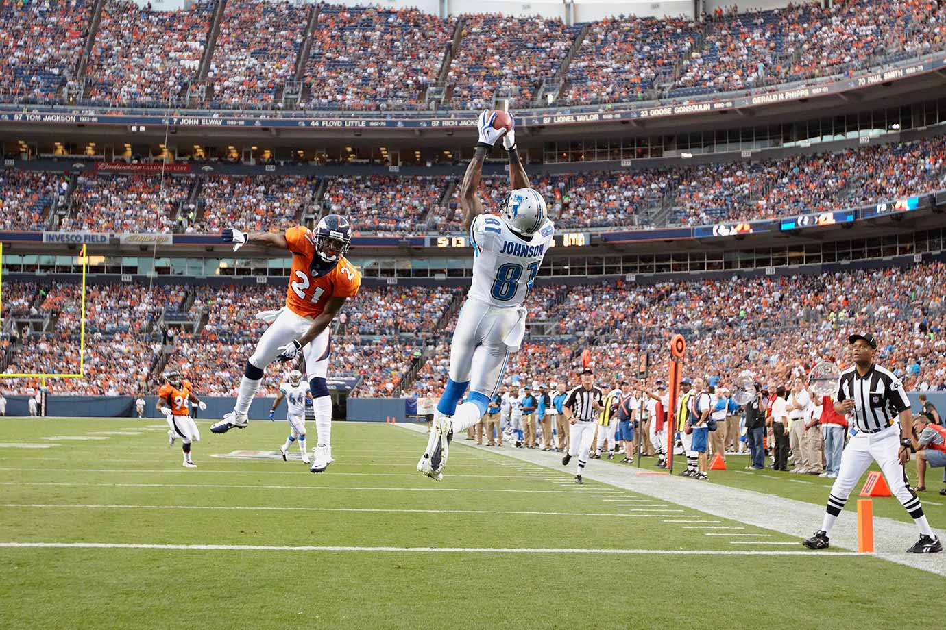 Aug. 21, 2010 — Detroit Lions vs. Denver Broncos
