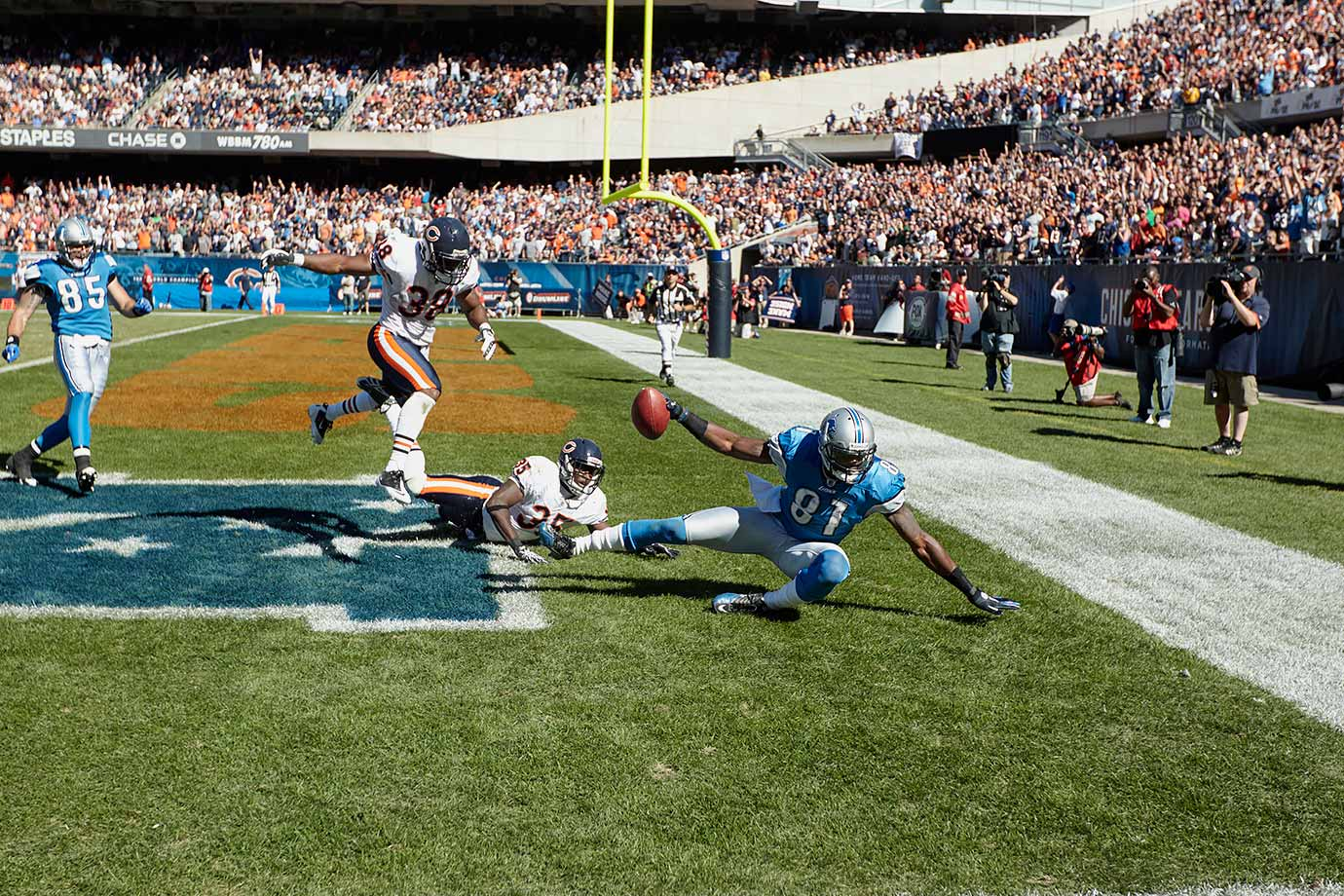 Sept. 12, 2010 — Detroit Lions vs. Chicago Bears
