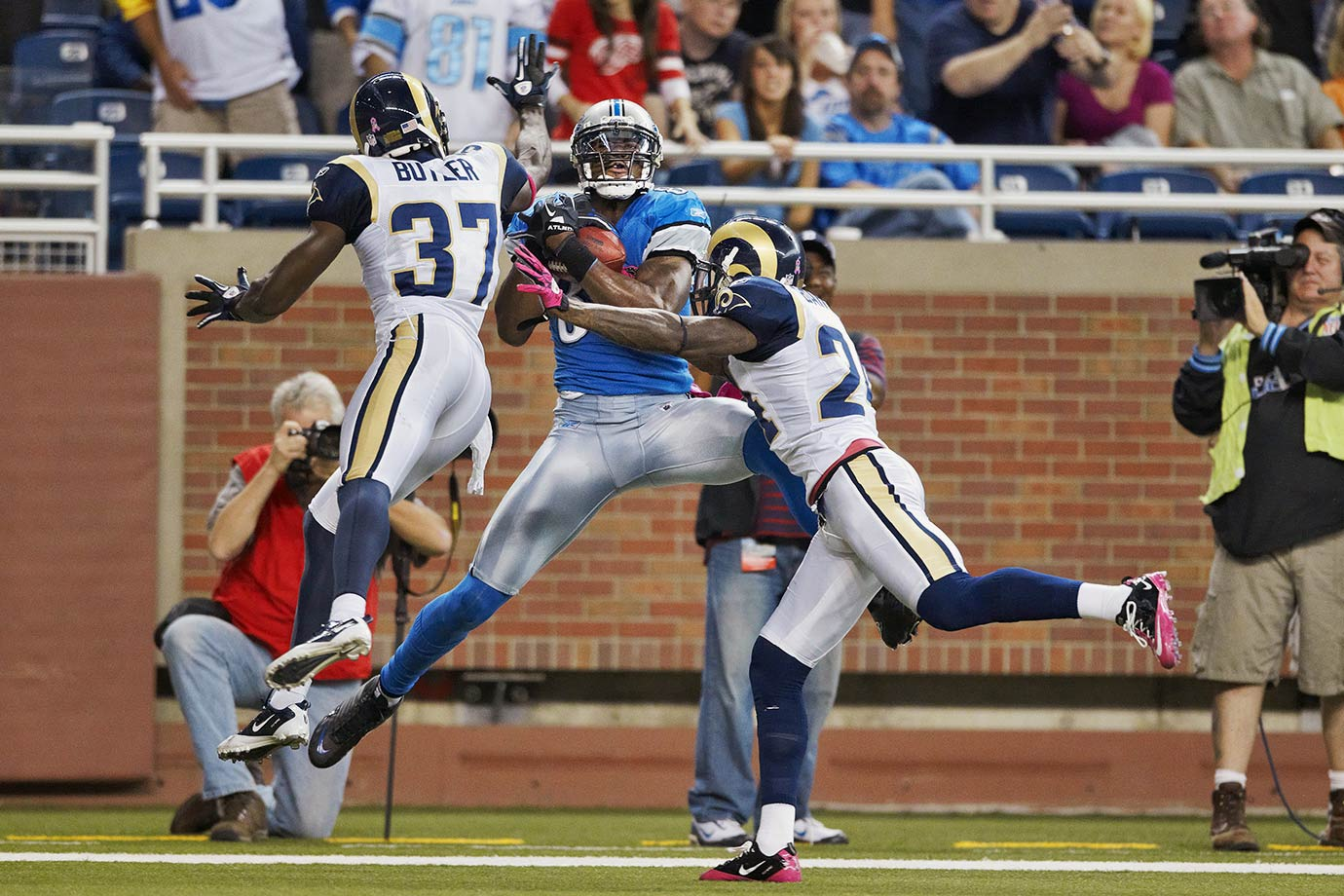 Oct. 10, 2010 — Detroit Lions vs. St. Louis Rams