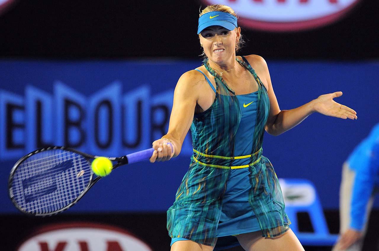 Maria Sharapova Grand Slam Fashion Statements Over the ...