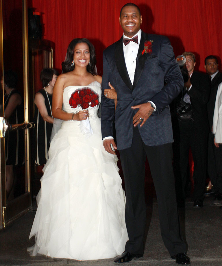 Carmelo Anthony and LaLa Vazquez