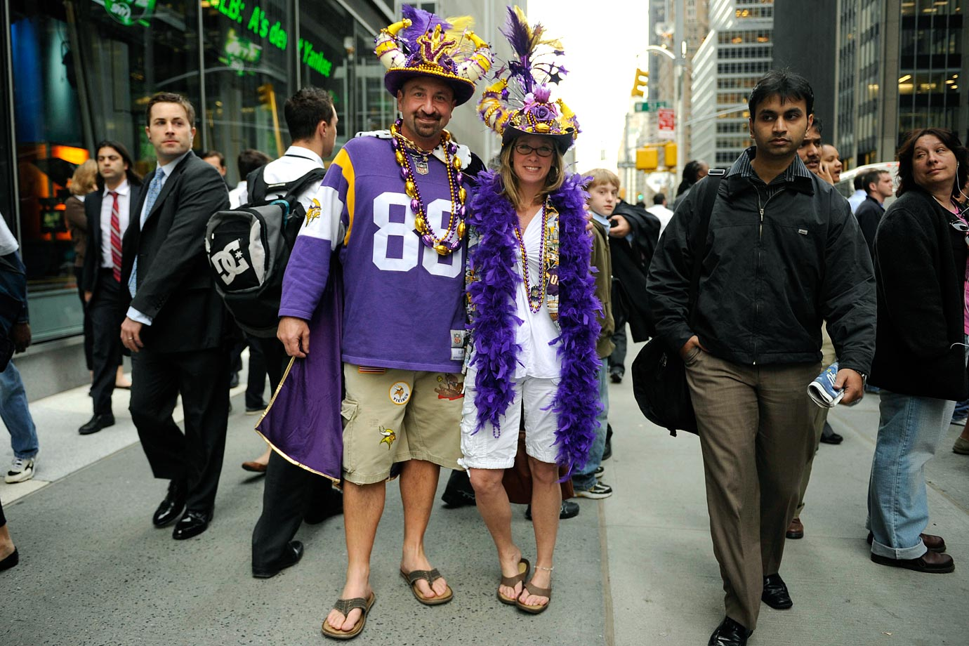 Minnesota Vikings fans in 2010.