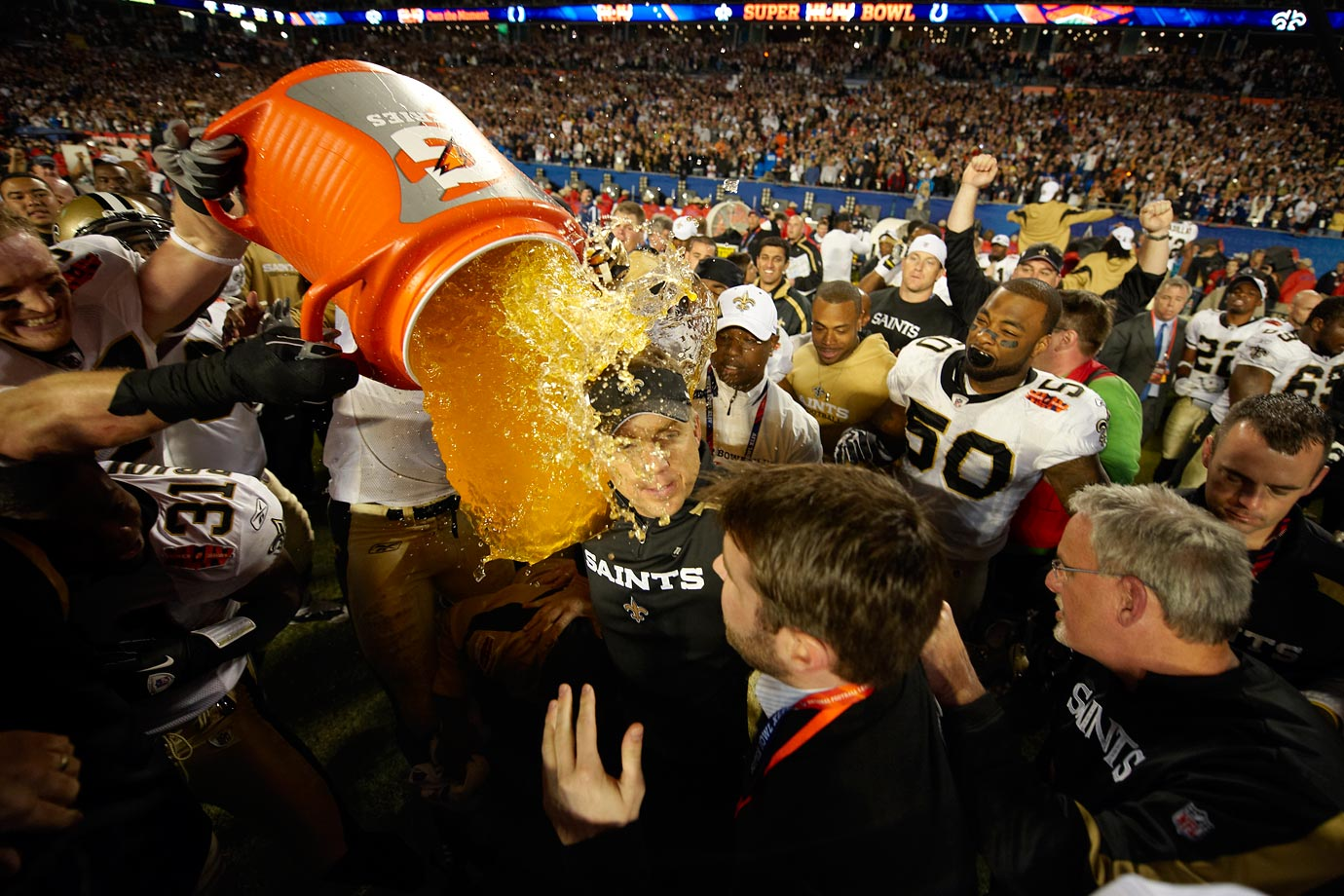February 7, 2010 — Super Bowl XLIV (Saints over Colts)