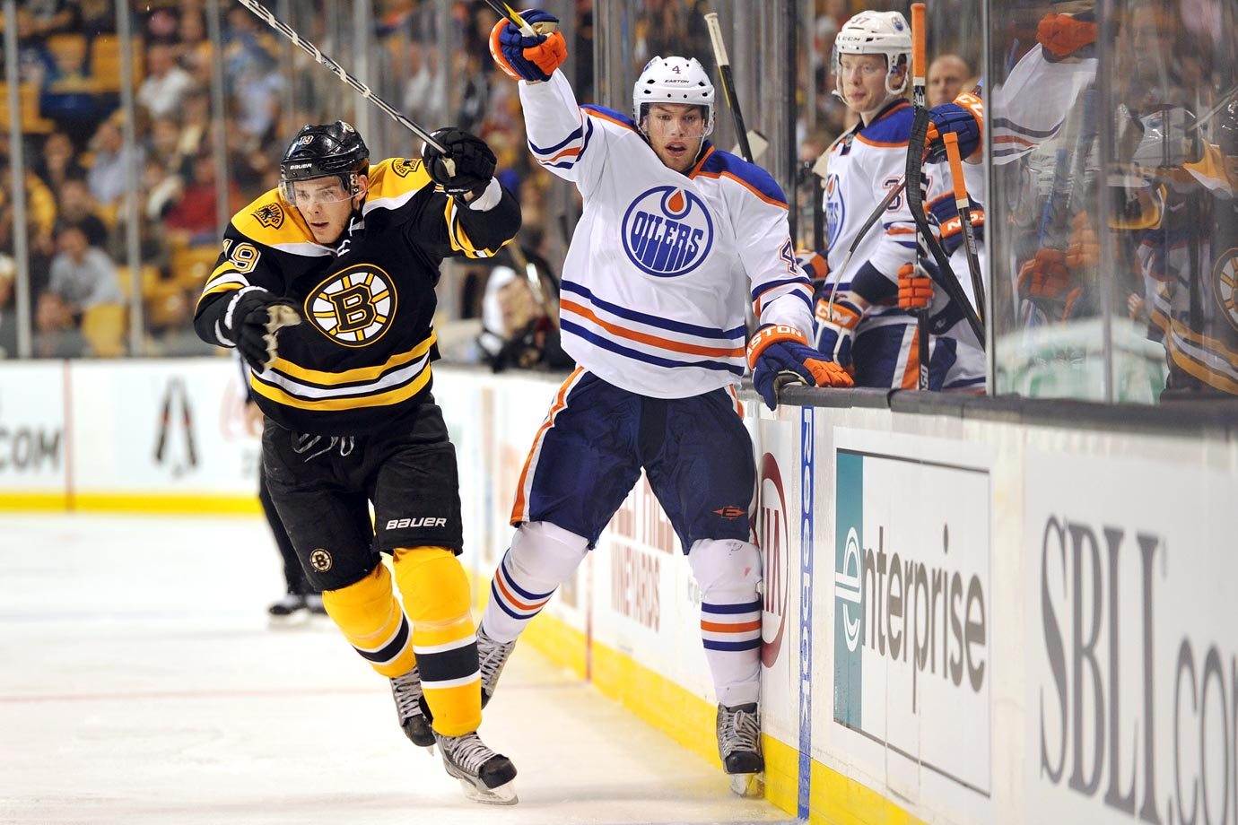 <p>The Oilers chose Taylor over Tyler (Seguin) in a draft that had two players worthy of being selected first overall. Hall won back-to-back Memorial Cups with the Windsor Spitfires (OHL), taking home MVP honors both times, and scored 22 goals in 65 games with Edmonton his rookie season. He was the fourth straight Ontario Hockey League player chosen with the No. 1 pick. — Notable picks: No. 2: Tyler Seguin, C, Boston Bruins | No. 4: Ryan Johanson, C, Columbus Blue Jackets | No. 7: Jeff Skinner, C, Carolina Hurricanes | No. 16: Vladimir Tarasenko, RW, St. Louis Blues | No. 187: Frederik Andersen, G, Carolina Hurricanes</p>