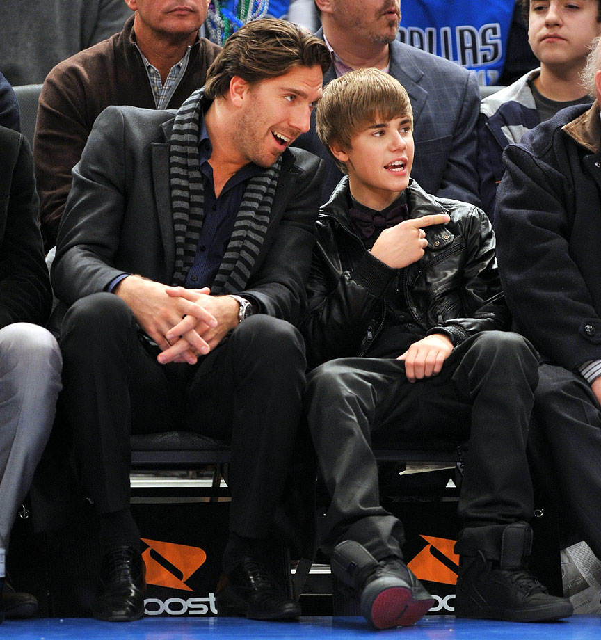 Feb. 2, 2011: New York Knicks vs. Dallas Mavericks at Madison Square Garden in New York City