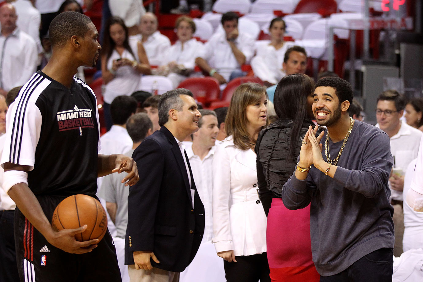 Miami Heat vs. Chicago Bulls in Game 3 of the Eastern Conference Finals at American Airlines Arena in Miami