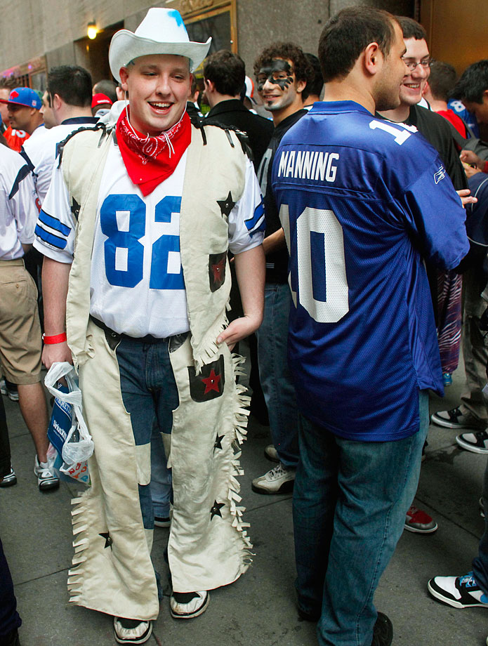 Dallas Cowboys fan in 2011.