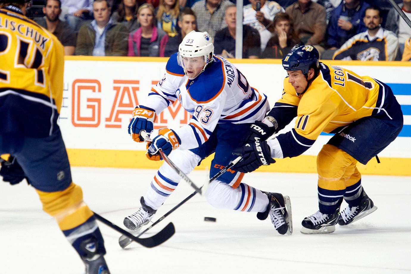 <p>There wasn't much doubt over who the Oilers would take with their second straight No. 1 overall pick. Edmonton took Ryan Nugent-Hopkins, 18, an efficient passing center who had led the WHL with 75 assists. He was teamed with LW Taylor Hall, the No. 1 pick in 2010, to make what the Oilers expected would become a formidable young attacking duo. Since a promising rookie season, Nugent-Hopkins has not progressed though. — Notable picks: No. 2: Gabriel Landeskog, LW, Colorado Avalanche | No. 3: Jonathan Huberdeau, C, Florida Panthers | No. 43: Brandon Saad, LW, Chicago Blackhawks | No. 208: Ondrej Palat, LW, Tampa Bay Lightning</p>
