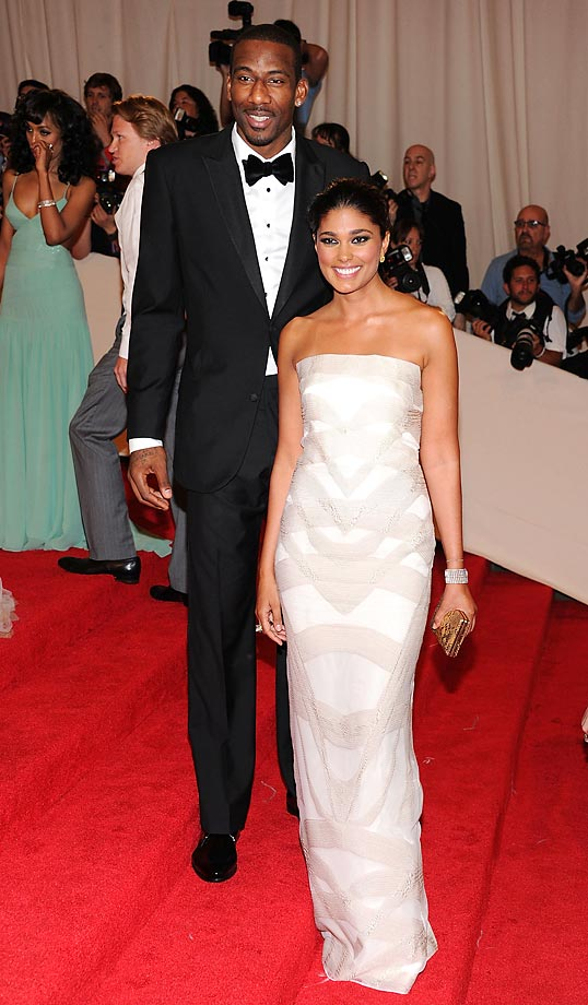 Rachel Roy and Amar'e Stoudemire.