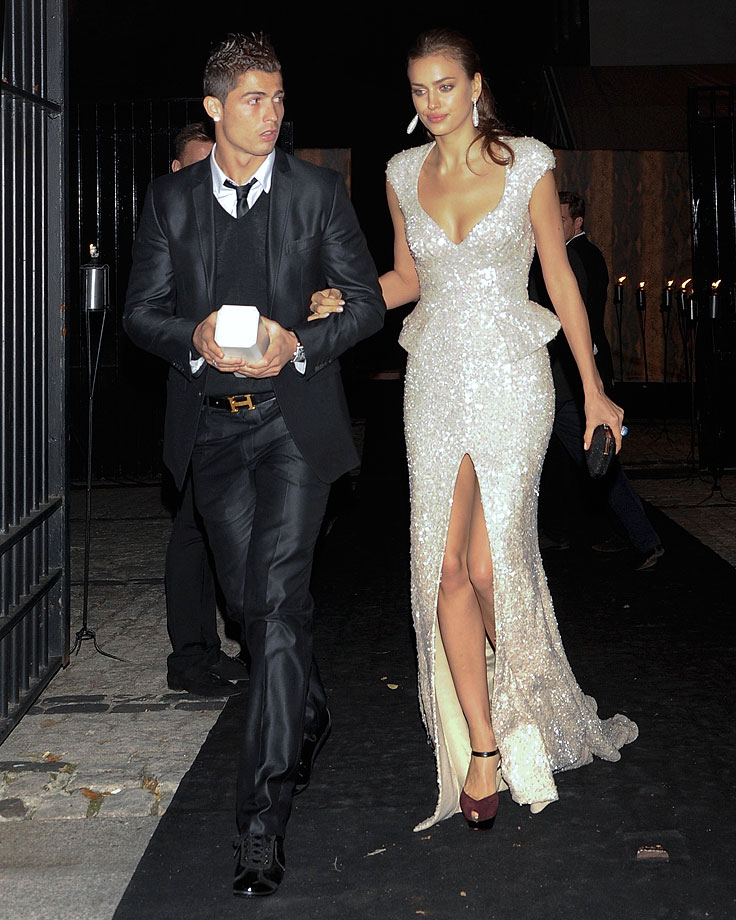 59e0e6fa496f5 Cristiano Ronaldo and Irina Shayk attend the Marie Claire Prix de la Mode  gala at the