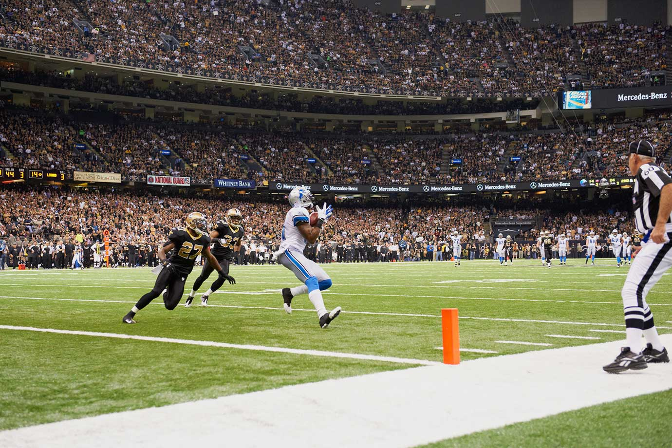Jan. 7, 2012 (NFC Wild Card Playoffs) — Detroit Lions vs. New Orleans Saints