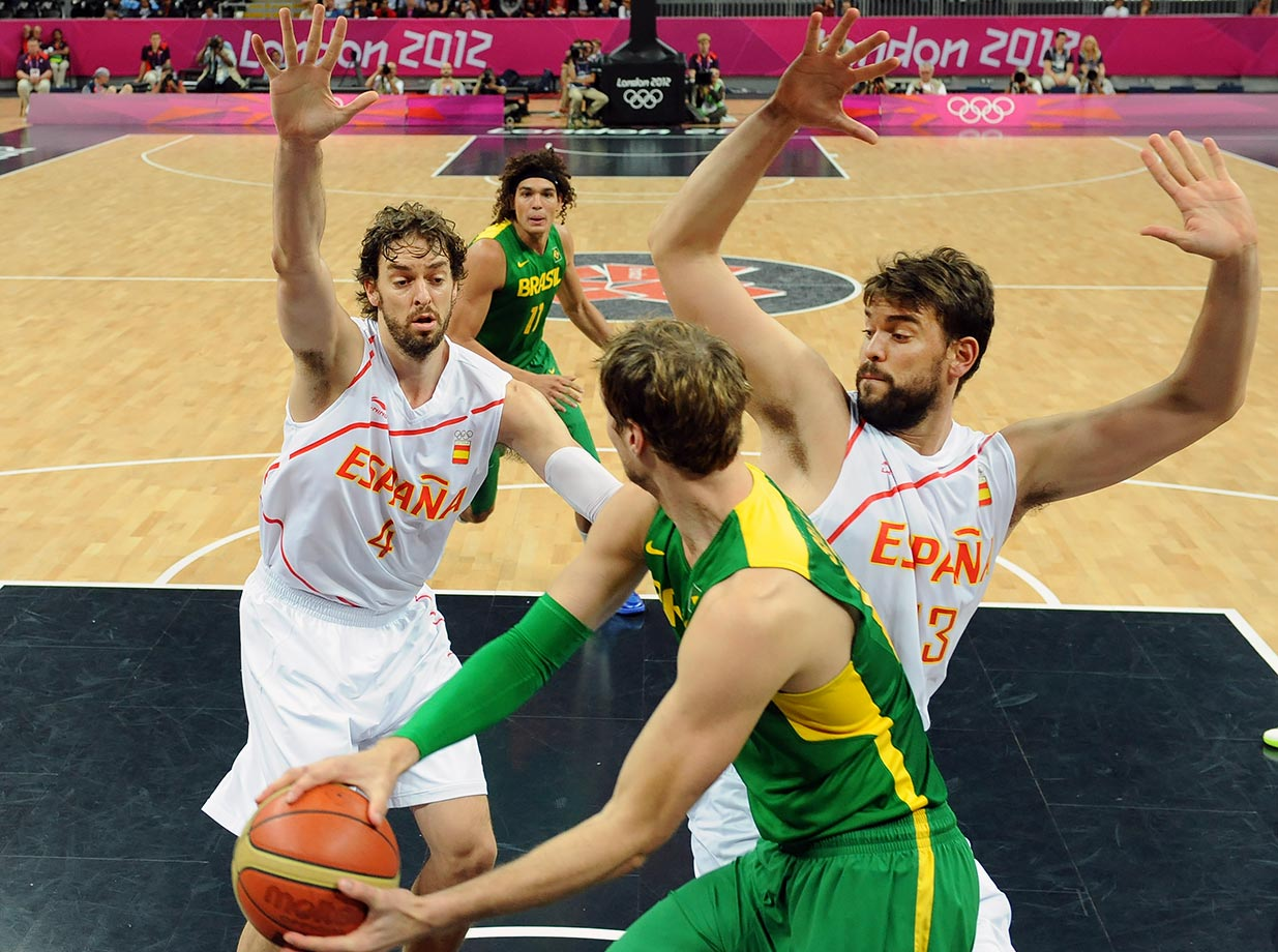 London Summer Olympics — Spain vs. Brazil