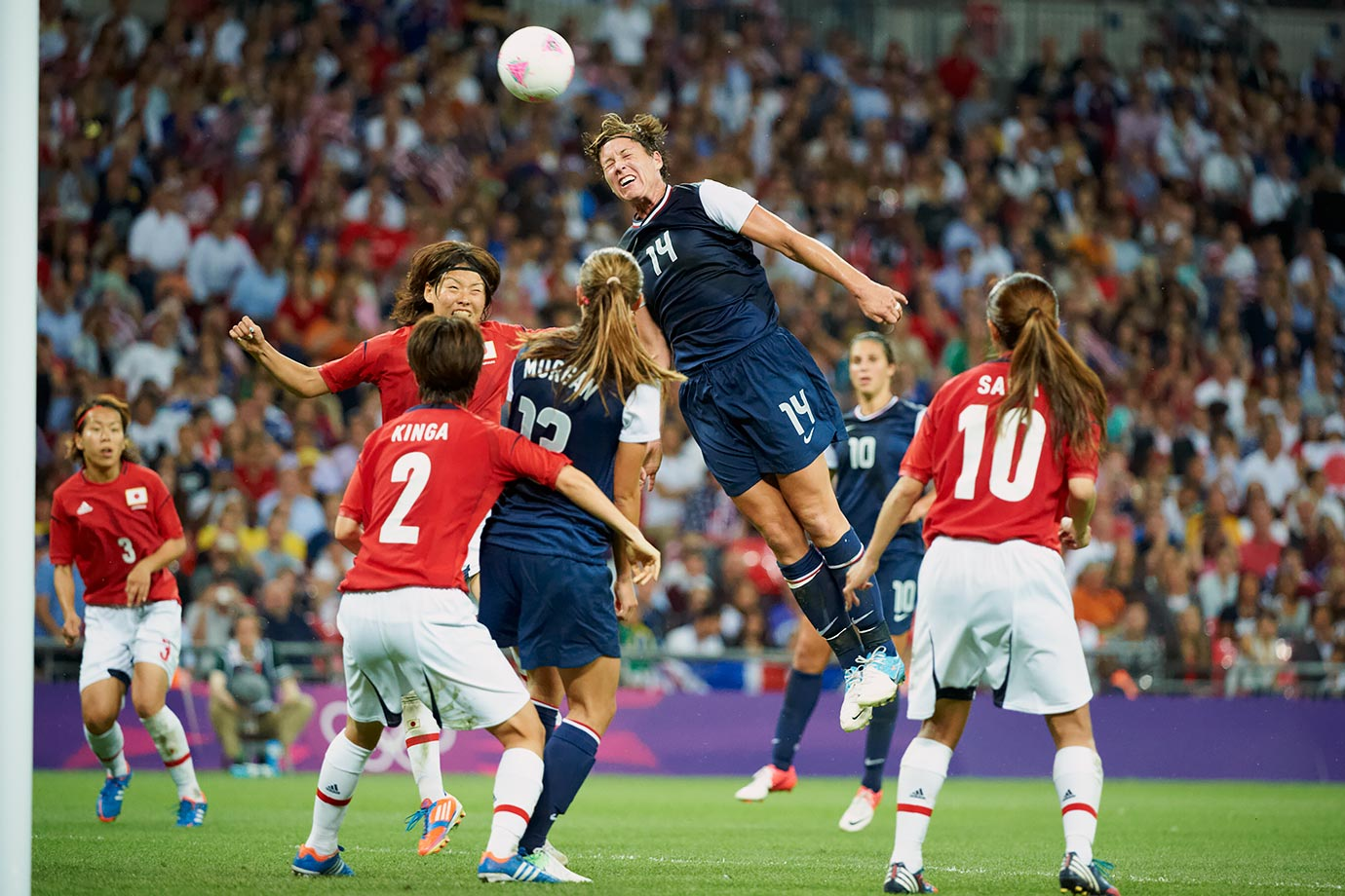 Aug. 9, 2012 — Summer Olympics, USA vs. Japan