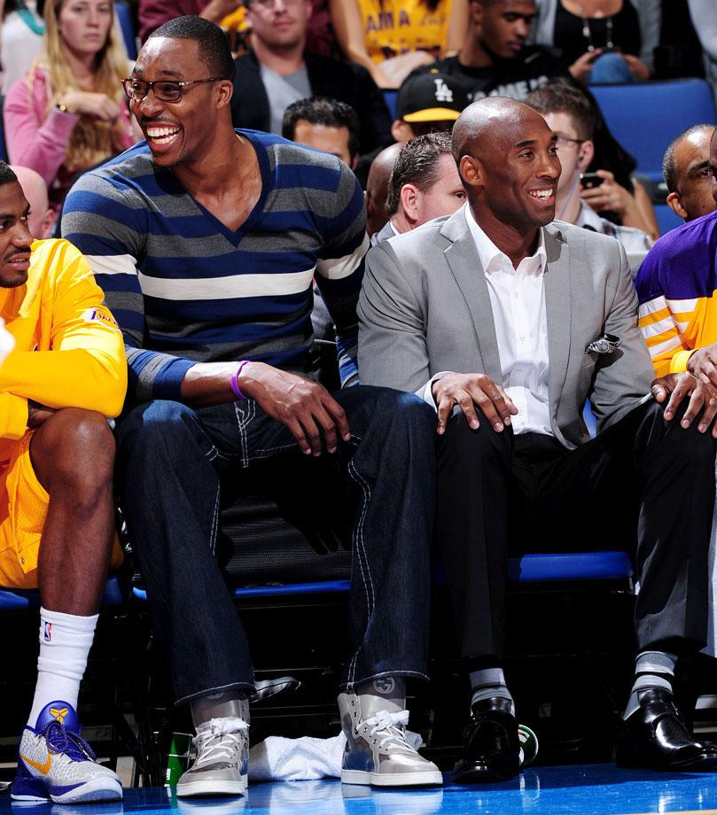 with Kobe Bryant